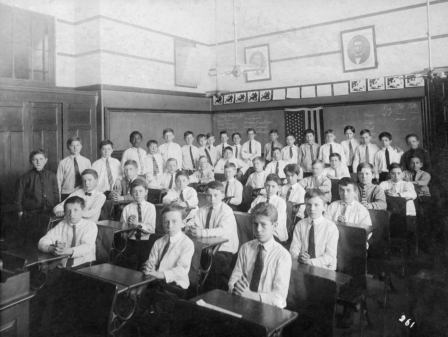 My Dad's School Photo
